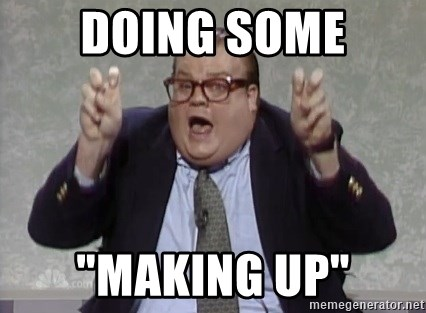 """quote guy - Doing some """"Making up"""""""