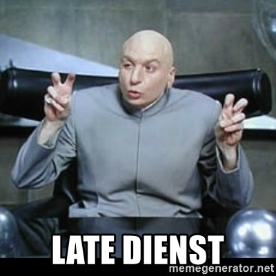 dr. evil quotation marks -  Late dienst