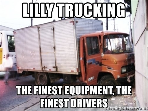 Yeezus Truck - LILLY TRUCKING The finest equipment, the finest drivers