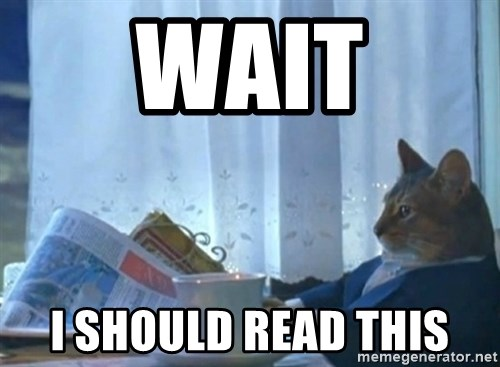 Sophisticated Cat - Wait I should read this