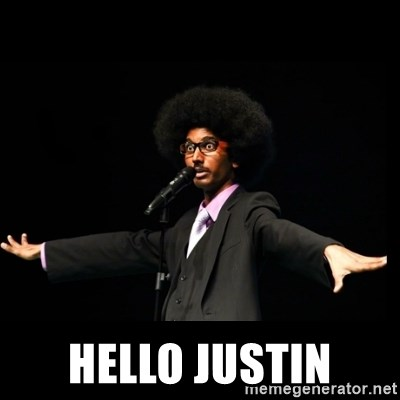 AFRO Knows -  hello Justin