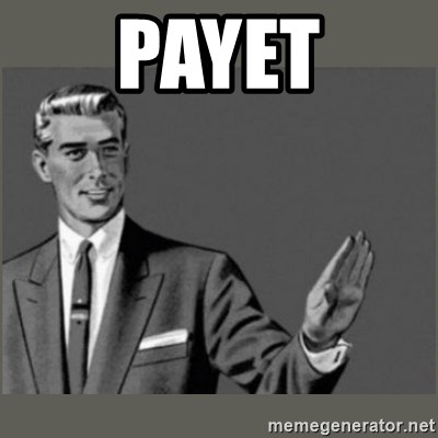 Bitch, Please grammar - Payet