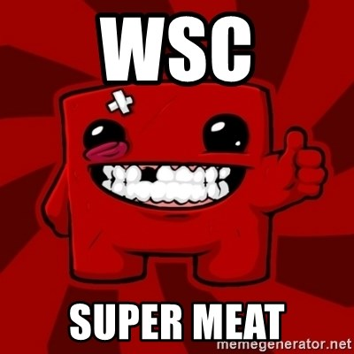 Super Meat Boy - WSC Super Meat
