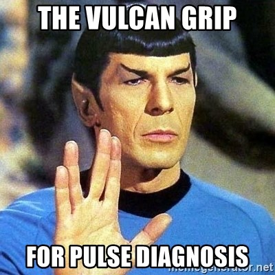Spock - the vulcan grip for pulse diagnosis