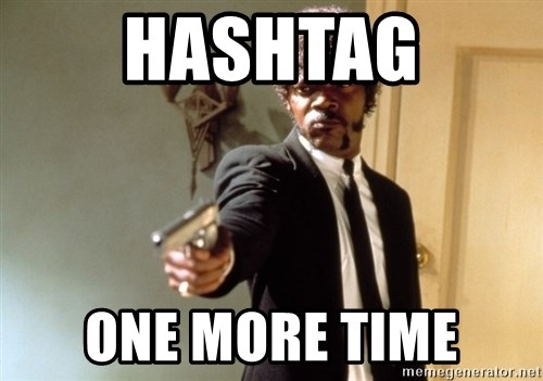Samuel L Jackson - Hashtag One more time