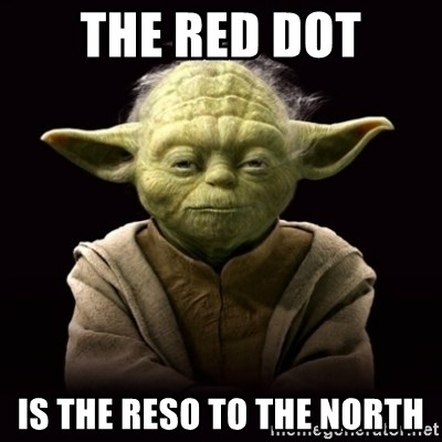 ProYodaAdvice - the red dot is the reso to the north