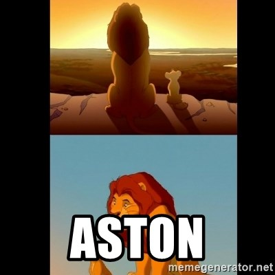 Lion King Shadowy Place -  aston