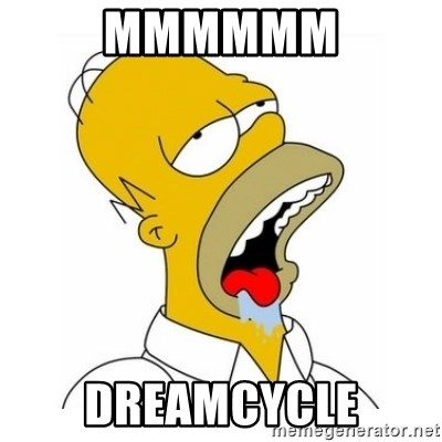 Homer Simpson Drooling - MMMMMM Dreamcycle