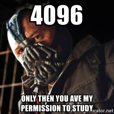 Only then you have my permission to die - 4096 only then you ave my permission to study