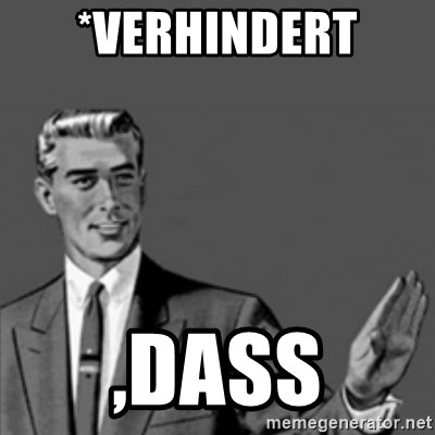 Correction Guy - *verhindert ,dass