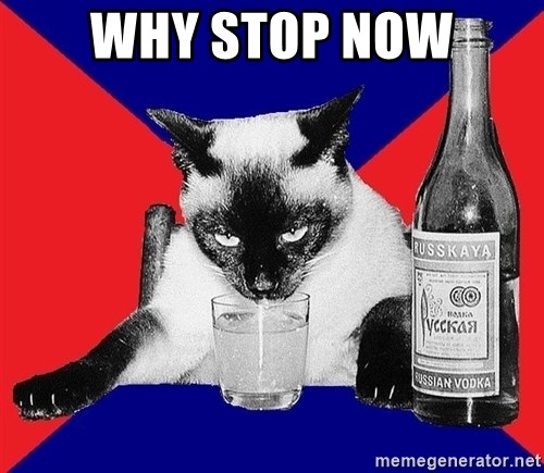 Alco-cat - Why stop now