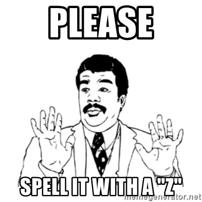 """aysi - please spell it with a """"z"""""""