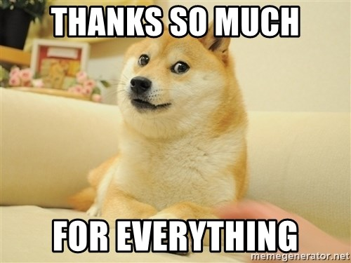 so doge - Thanks so much for Everything