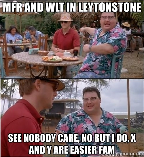 See? Nobody Cares - mfr and wlt in leytonstone see nobody care, no but i do, x and y are easier fam