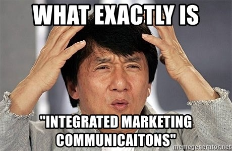 """Jackie Chan - what exactly is """"Integrated marketing communicaitons"""""""