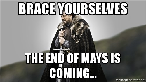 ned stark as the doctor - Brace Yourselves THE end of mays is coming...