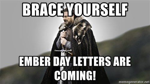 ned stark as the doctor - Brace Yourself Ember Day Letters are coming!