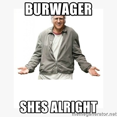 Larry David - Burwager shes alright