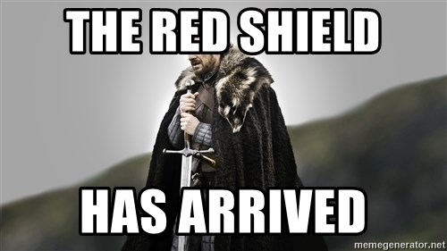 ned stark as the doctor - The red shield Has arrived