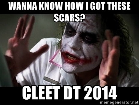 joker mind loss - Wanna know how i got these scars? Cleet DT 2014