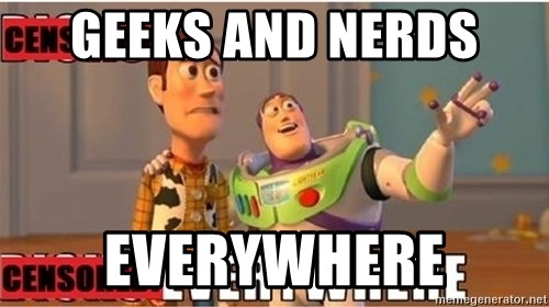 Toy Story Everywhere - GEEKS AND NERDS  EVERYWHERE