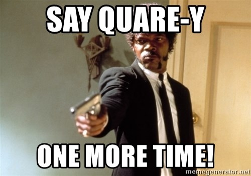 Samuel L Jackson - say quare-y one more time!