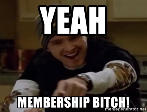 Science Bitch! - YEAH MEMBERSHIP BITCH!