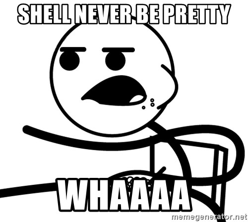 Cereal Guy - Shell never be pretty Whaaaa
