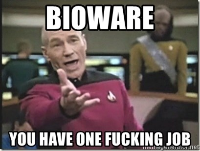 star trek wtf - BIOWARE YOU HAVE ONE FUCKING JOB