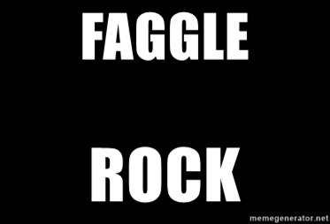 Blank Black - faggle rock