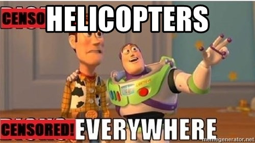 Toy Story Everywhere - Helicopters