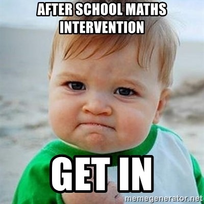 Victory Baby - AFTER SCHOOL MATHS INTERVENTION GET IN