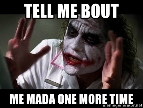 joker mind loss - tell me bout me mada one more time