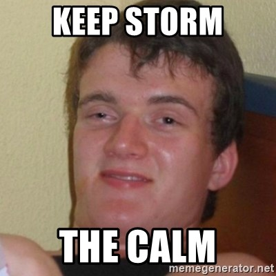 Stoner Stanley - Keep storm the calm