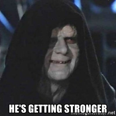 Sith Lord -  He's Getting Stronger
