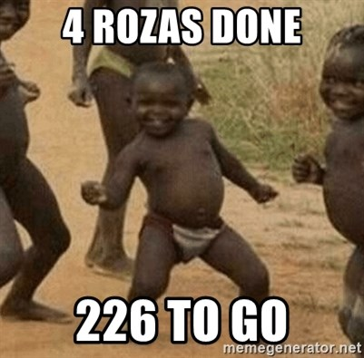 Success African Kid - 4 rozas done 226 to go