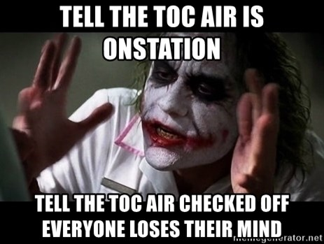 joker mind loss - Tell the toc air is onstation tell the toc air checked off everyone loses their mind