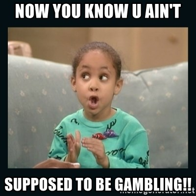 Raven Symone - Now you know u ain't supposed to be gambling!!