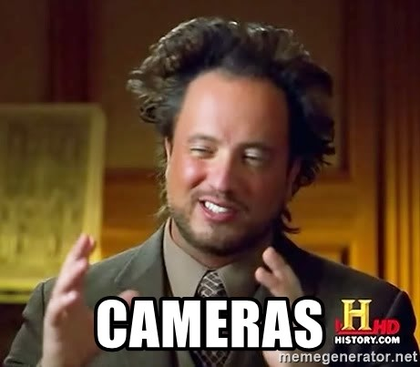 Ancient Aliens -  Cameras