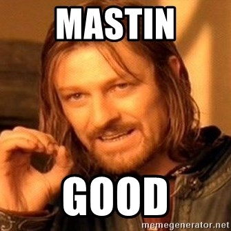 One Does Not Simply - MASTIN GOOD