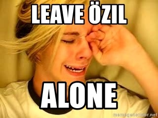 leave britney alone - Leave öZIL aLONE