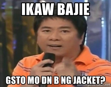 willie revillame you dont do that to me - ikaw bajie gsto mo dn b ng jacket?