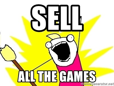 X ALL THE THINGS - Sell All the games