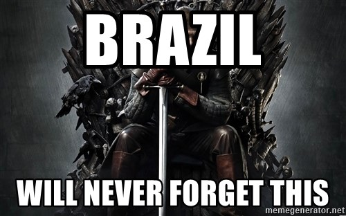 Eddard Stark - Brazil Will never forget this