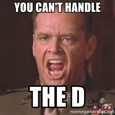 Jack Nicholson - You can't handle the truth! - you can't handle the d