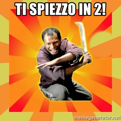 GODFRED MENGGILA - ti spiezzo in 2!