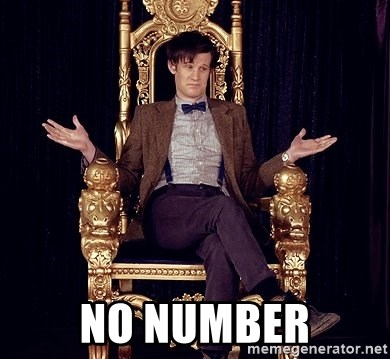 Hipster Doctor Who -  No number