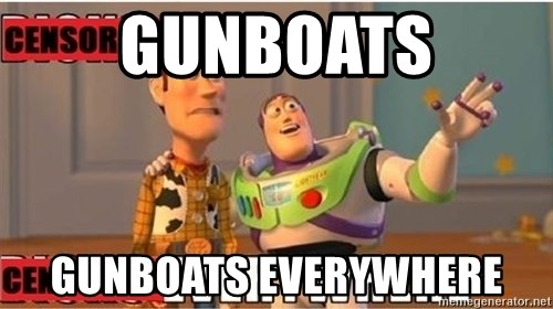 Toy Story Everywhere - gunboats gunboats everywhere