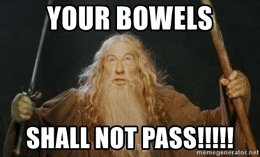 Gandalf - YOUR BOWELS SHALL NOT PASS!!!!!
