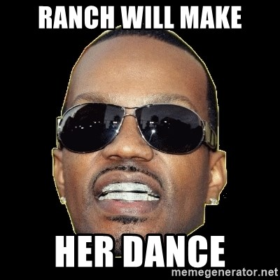 Juicy J - Ranch will make Her dance
